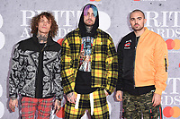Cheat Codes<br /> arriving for the BRIT Awards 2019 at the O2 Arena, London<br /> <br /> ©Ash Knotek  D3482  20/02/2019<br /> <br /> *images for editorial use only*