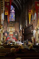 Kathedrale auf der Dominsel in Wroclaw (Breslau), Woiwodschaft Niederschlesien (Województwo dolnośląskie), Polen, Europa<br /> Cathedral Island in Wroclaw, Poland, Europe