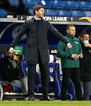 25.02.2021 Rangers v Royal Antwerp: Steven Gerrard