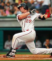 29 June 2007: Jon Still of the Greenville Drive, Class A South Atlantic League affiliate of the Boston Red Sox, in a game against the West Virginia Power at West End Field in Greenville, S.C. Photo by:  Tom Priddy/Four Seam Images