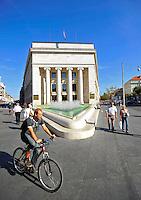 KROATIEN, 09.2012, Zagreb. Zentrale der Kroatischen Staatsbank in der Innenstadt. | Headquarters of Croatia's central bank, or Hrvatska Narodna Banka in the centre. © Oliver Bunic/EST&OST