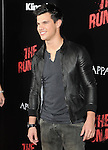 Taylor Lautner  at APPARITION'S L.A. Premiere of The Runaways held at The Arclight Cinerama Dome in Hollywood, California on March 11,2010                                                                   Copyright 2010 DVS / RockinExposures..