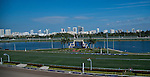 HALLANDALE BEACH, FL - JAN 28: The view from the roof of Gulfstream Park during the Pegasus World Cup Invitational Day at Gulfstream Park Race Course on January 28, 2017 in Hallandale Beach, Florida. (Photo by Scott Serio/Eclipse Sportswire/Getty Images)