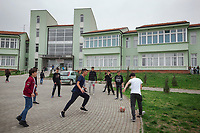 Serbia. Veliki Trnovac (in Albanian: Tërnoc i Madh) is a town in the municipality of Bujanovac, located in the Pčinja District of southern Serbia. «Muharrem Kadriu» Elementary School. The school's students are all from Albanian ethnicity. Students play football during classes' break in school yard. Bujanovac is located in the geographical area known as Preševo Valley. The Pestalozzi Children's Foundation (Stiftung Kinderdorf Pestalozzi) is advocating access to high quality education for underprivileged children. It supports in Bujanovac a project called» Our towns, our schools». 16.4.2018 © 2018 Didier Ruef for the Pestalozzi Children's Foundation