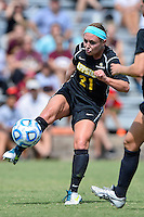 Appalachian State forward Aubrey Fletcher (21) during first half of an NCAA soccer game, Sunday, October 05, 2014 in San Marcos, Tex. Texas State leads 1-0 at the halftime. (Mo Khursheed/TFV Media via AP Images)