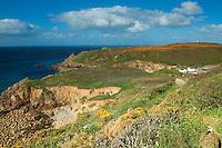 Porthgwarra near Porthcurno, Cornwall
