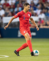 KANSAS CITY, KS - JUNE 26: Omar Gonzalez #3 during a game between Panama and USMNT at Children's Mercy Park on June 26, 2019 in Kansas City, Kansas.