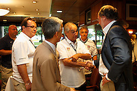 The VIP reception prior to the match. The men's national teams of the United States and Argentina played to a 0-0 tie during an international friendly at Giants Stadium in East Rutherford, NJ, on June 8, 2008.