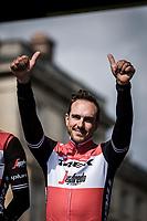 John Degenkolb (DEU/Trek Segafredo), <br /> <br /> Team Presentation Saturday<br /> <br /> 117th Paris-Roubaix (1.UWT)<br /> 1 Day Race: Compiègne-Roubaix (257km)<br /> <br /> ©kramon