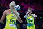 28/10/17 Fast5 2017<br /> Fast 5 Netball World Series<br /> Hisense Arena Melbourne<br /> Australia v New Zealand<br /> <br /> Tegan Philip<br /> <br /> <br /> <br /> Photo: Grant Treeby