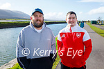 Enjoying a stroll in Blennerville on Sunday, l to r: Happi Ryle and Killian McGovern.