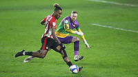 Ivan Toney scores Brentford's sixth goal during Brentford vs Wycombe Wanderers, Sky Bet EFL Championship Football at the Brentford Community Stadium on 30th January 2021