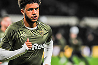 Leeds United's forward Tyler Roberts (11) during the Sky Bet Championship match between Hull City and Leeds United at the KC Stadium, Kingston upon Hull, England on 2 October 2018. Photo by Stephen Buckley/PRiME Media Images.