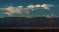 Clouds over Anza Borrego.