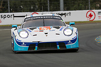 #56 Team Project 1 Porsche 911 RSR - 19 LMGTE Am, Egidio Perfetti, Matteo Cairoli, Riccardo Pera, 24 Hours of Le Mans , Free Practice 1, Circuit des 24 Heures, Le Mans, Pays da Loire, France