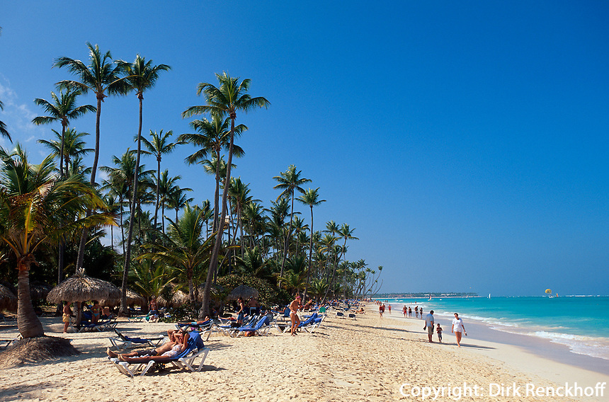 Dominikanische Republik, Strand Bavaro bei Punta Cana