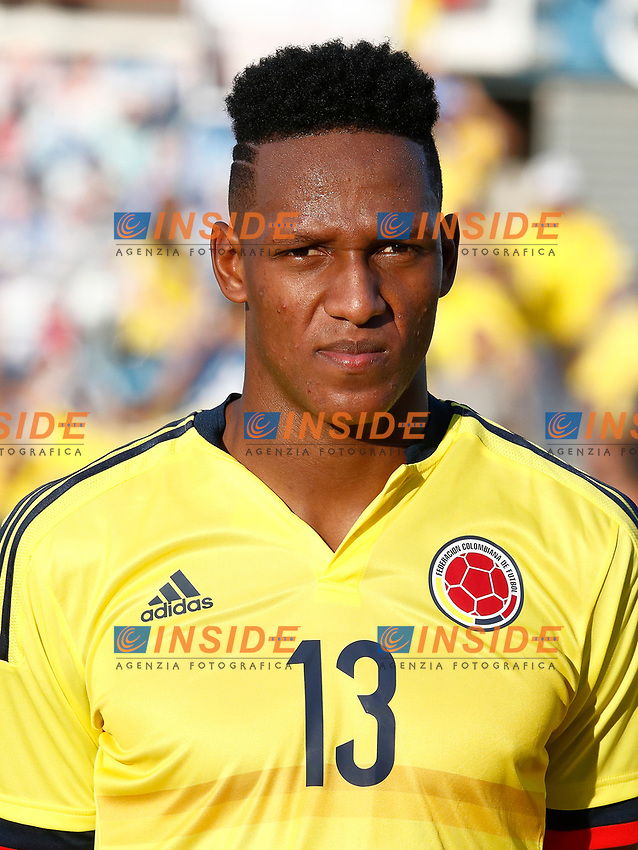 Colombia's Yerri Mina during international friendly match. June 13,2017.(ALTERPHOTOS/Acero/Insidefoto)<br /> Camerun - Colombia <br /> Foto Acero/Alterphotos/Insidefoto <br /> ITALY ONLY
