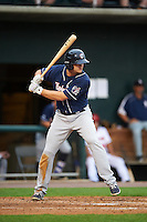 New Hampshire Fisher Cats designated hitter Matt Dean (24) at bat during a game against the Harrisburg Senators on June 2, 2016 at FNB Field in Harrisburg, Pennsylvania.  New Hampshire defeated Harrisburg 2-1.  (Mike Janes/Four Seam Images)