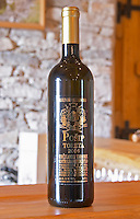 Posip Toreta 2004, Toreta Vinarija Winery Toreta Vinarija Winery in Smokvica village on Korcula island. Vinarija Toreta Winery, Smokvica town. Peljesac peninsula. Dalmatian Coast, Croatia, Europe.