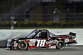 NASCAR Camping World Truck Series<br /> Ford EcoBoost 200<br /> Homestead-Miami Speedway, Homestead, FL USA<br /> Friday 17 November 2017<br /> Noah Gragson, Switch Toyota Tundra<br /> World Copyright: Nigel Kinrade<br /> LAT Images