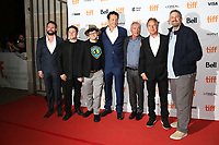 VINCE VAUGHN, UDO KIER AND DON JOHNSON WITH PRODUCERS - RED CARPET OF THE FILM 'BRAWL IN CELL BLOCK 99' - 42ND TORONTO INTERNATIONAL FILM FESTIVAL 2017