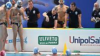 Ratko Rudic Pro Recco time out <br /> Trieste 24-05-2019 Centro Federale Bruno Bianchi   <br /> Campionato Italiano Final Six Unipolsai <br /> Pallanuoto Uomini  <br /> Semifinale <br /> Pro Recco - Sport Management <br /> Foto Andrea Staccioli/Deepbluemedia/Insidefoto