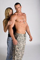 romance novel cover photograph This image is available as an exclusive only. Please contact Jenn with the image number to purchase.<br /> <br /> The entire set of any given pose will be removed from the site with any EXCLUSIVE purchase.<br /> <br /> This image is $550<br /> SET: MILITARY-04