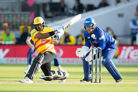 Samit Patel of Trent Rockets pulls into the on side during London Spirit Men vs Trent Rockets Men, The Hundred Cricket at Lord's Cricket Ground on 29th July 2021
