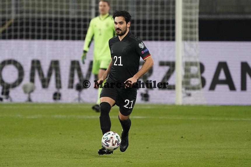Ilkay Guendogan (Deutschland Germany) - 25.03.2021: WM-Qualifikationsspiel Deutschland gegen Island, Schauinsland Arena Duisburg