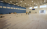 Construction at Milby High School, January 24, 2017.
