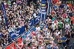 © Joel Goodman - 07973 332324 . 22/05/2016 . Manchester , UK . Start of the men's race on Portland Street . The Great Manchester Run in Manchester City Centre . Photo credit : Joel Goodman