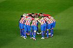 Atletico de Madrid's players during La Liga match. November 19,2016. (ALTERPHOTOS/Acero)
