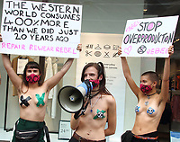SEP 9 Extinction Rebellion Topless Protest
