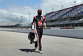DARLINGTON, SOUTH CAROLINA - MAY 17: Christopher Bell, driver of the #95 Rheem Toyota, walks pit road prior to the NASCAR Cup Series The Real Heroes 400 at Darlington Raceway on May 17, 2020 in Darlington, South Carolina. NASCAR resumes the season after the nationwide lockdown due to the ongoing coronavirus (COVID-19).  (Photo by Chris Graythen/Getty Images)