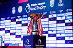 The trophy for Premier League Asia Trophy exposed at Grand Hyatt Hotel on July 21, 2017 in Hong Kong, China. Photo by Marcio Rodrigo Machado / Power Sport Images