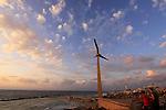 Israel, Tel Aviv-Yafo, the Pilots Memorial in Ha'atzmaut park
