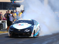 Jul 30, 2017; Sonoma, CA, USA; NHRA pro stock driver Tanner Gray during the Sonoma Nationals at Sonoma Raceway. Mandatory Credit: Mark J. Rebilas-USA TODAY Sports