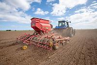 Drilling peas - Lincolnshire March