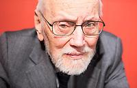 Ferruccio Parazzoli, è uno dei più importanti scrittori italiani di oggi. © Leonardo Cendamo