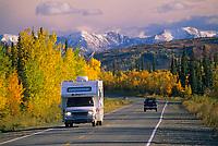 RV on the George Parks, Highway, near Healy, Alaska