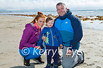 Enjoying a stroll in Banna on Sunday, l to r: Jackie Twohig with John Paul and Jack O'Connor.
