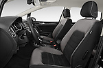 Front seat view of a 2014 Volkswagen GOLF SPORTSVAN Highline 5 Door Mini MPV 2WD Front Seat car photos