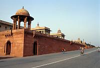 Indien, Regierungsgebäude in  Delhi.
