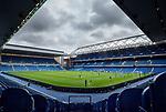 25.07.2020 Rangers v Coventry City: Ibrox stadium now a closed doors venue during the coronavirus pandemic