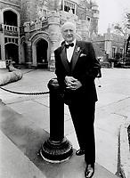 New York Mayor Ed Koch<br /> <br /> Photo : Boris Spremo - Toronto Star archives - AQP