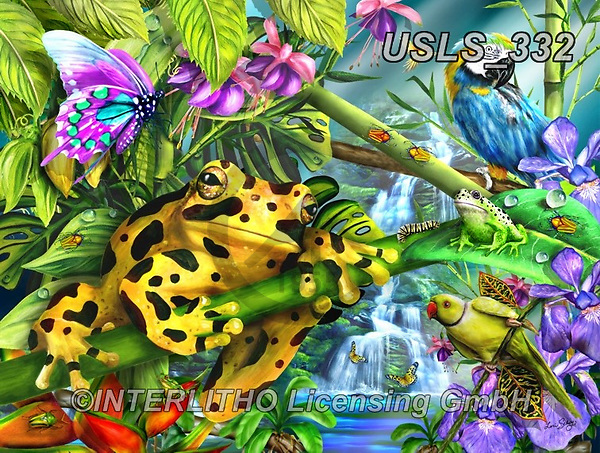 Lori, REALISTIC ANIMALS, REALISTISCHE TIERE, ANIMALES REALISTICOS, zeich, paintings+++++Watchfull Eyes_6_18X24_72,USLS332,#a#, EVERYDAY ,puzzle,puzzles