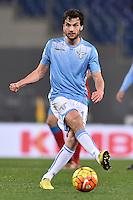 Marco Parolo Lazio.<br /> Roma 3-02-2016 Stadio Olimpico, Football Calcio 2015/2016 Serie A Lazio - Napoli. Foto Antonietta Baldassarre / Insidefoto