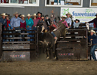 17-J18-WY HS FNLS Bull Riding Friday 2nd go