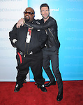 Adam Levine and CeeLo Green at The NBCUNIVERSAL PRESS TOUR ALL-STAR PARTY held at The Athenaeum in Pasadena, California on January 06,2012                                                                               © 2011 Hollywood Press Agency