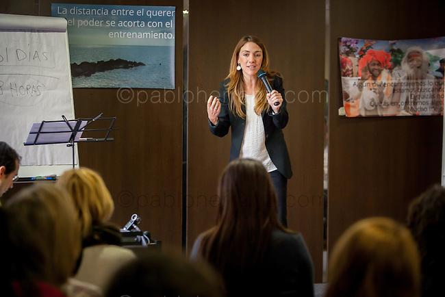 "Taller ""Poder sin Limites"" de Motivalia Coaching en el Hotel Husa Chamartin, Madrid."